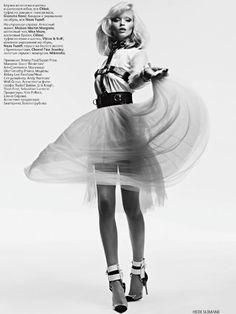 Abbey Lee Kershaw | Hedi Slimane | Vogue Russia April2011 - 3 Sensual Fashion Editorials | Art Exhibits - Anne of Carversville Women's News