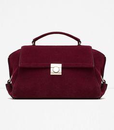 Zara Leather City Bag