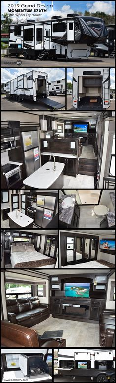 2019 Grand Design Momentum - Orchard Park - - New Fifth Wheel RV for sale in Orchard Park, New York. Fifth Wheel Toy Haulers, Fifth Wheel Campers, Motorhomes For Sale, Trailers For Sale, Truck Camper, Camper Trailers, Mobile Garage, Master Bath, Master Bedroom