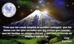 Creo en las cosas simples...
