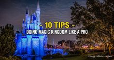 10 Tips On How to Do Magic Kingdom Like A Disney Pro