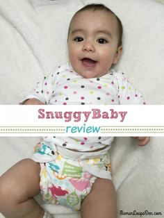 Snuggy Baby Cloth Diaper Review