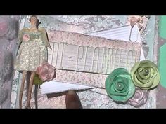 DIY: Tilda Design Team Planner - {The Cutting Cafe} - YouTube