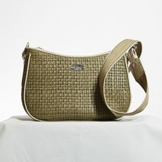 Hobo style bag in printed weave leather Hobo Style, Leather Handbags, Weave, Printed, Leather Totes, Leather Bags