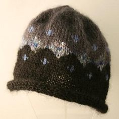 Knit Hat by Circle Craft member Connie Wright