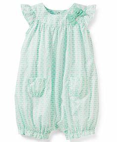 Carter's Baby Girls' Short-Sleeved Romper