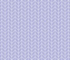 chevron lavender fabric by charlottewinter on Spoonflower - custom fabric