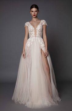 Antonia soft bohemian wedding dress; Muse by Berta Bridal. Trunk Show coming in June 2017