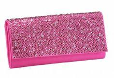 Clutch handbag, purse, wedding purse. http://www.modelbride.com/Fuchsia-Benjamin-Adams-Jolie-Handbag-1-Prodview.html
