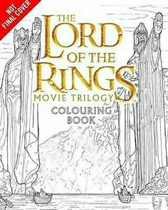 @Regrann from @middleearthnews -  Coming this June from HarperCollins! A new LOTR coloring book featuring illustrations by Nicolette Caven. #Regrann