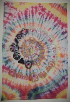 32615e6d87d CUSTOM Tie Dye Tapestry by CosmicalKreationz on Etsy