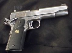 pistol series - Internet Movie Firearms Database - Guns in Movies, TV and Video Games M1911 Pistol, Custom 1911, Springfield Armory, Lethal Weapon, Shooting Guns, Guns And Ammo, Firearms, Shotguns, Hand Guns