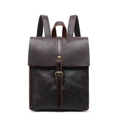 Heritage Vintage Leather Mini Backpack-YONDER BAGS Laptop Rucksack, Men's Backpack, Fashion Backpack, Ladies Backpack, Vintage Leather Backpack, Leather Backpack For Men, Cow Leather, Vintage Backpacks, Unique Bags