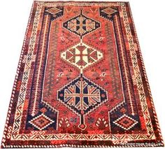 South Persian Qasqai Rug | London House Rugs #tribalrug #rugpattern