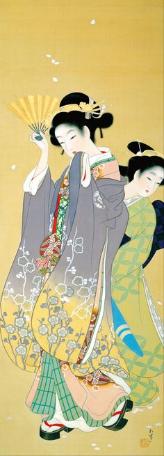 Shoen_Uemura_-_Cherry_Blossom_Viewing_-_Google_Art_Project.jpg (1367×3796)