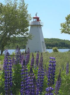 Belyeas Point Lighthouse, New Brunswick Canada