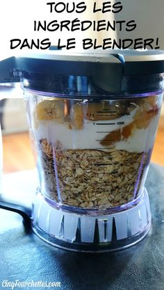 Healthy banana muffins in the blender! Five Forks Easy Cupcake Recipes, Muffin Recipes, Breakfast Recipes, Dessert Recipes, Bread Recipes, Mixer, Healthy Banana Muffins, Desserts With Biscuits, Fondant Cupcakes
