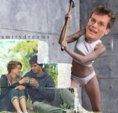 Why do I find this soo funny? TFIOS John Green, Hazel and Gus