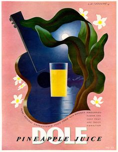 For that truly Hawaiian flavour and zest! #vintage #1930s #food #juice #ads