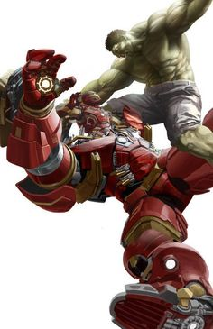 The Hulk vs Hulkbuster - Malainfluencia