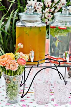 Summer soiree garden party feature on Better Homes and Gardens online