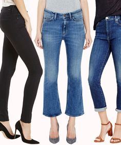 How to Find the Best Jeans for Every Body Type | from InStyle.com