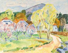 Ferdinand Finne (1910 – 1999): Fra Narestø Ferdinand, Painters, Oil, Landscape, Inspiration, Image, Art, Kunst, Scenery