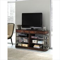 Avalon Heights-Empire Media Console in Chelsea - 193-17-31 - Living Room - Stanley Furniture
