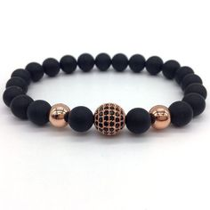 2017 New Fashion High Quality Lava Stone Beads Bracelets With Charm Handmade Bracelets, Bracelets For Men, Beaded Bracelets, Bracelet Crafts, Stone Bracelet, Stone Beads, Jewelery, Boho Jewellery, Fashion Accessories