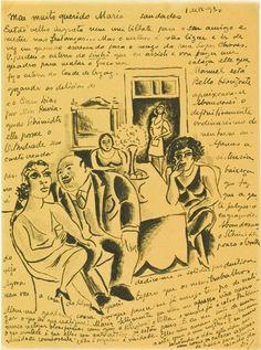 A correspondência do autor estará reunida no Centro Cultural Correios de São Paulo, de 19 de Setembro a 15 de Novembro de 2015, na exposição Mário de Andrade – Cartas do Modernismo.