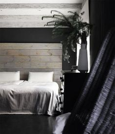 Paintspired details for all areas for Plascon South Africa. Bed Decor, Bedroom Inspirations, Room Colors, Bedroom Makeover, Guest Bedrooms, Room Makeover Inspiration, Black Rooms, Dream Decor, Room Makeover