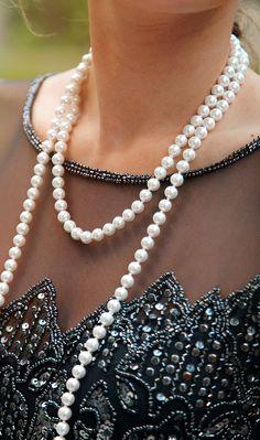 kieljamespatrick:  Pearls and Sequins