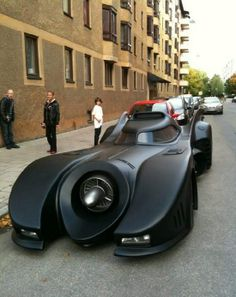 just a normal day and then you see a bat mobile parked down your street!