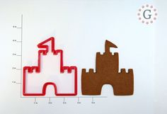 Sand Castle Cookie Cutter by GingerbreadCutterCo on Etsy, $6.00