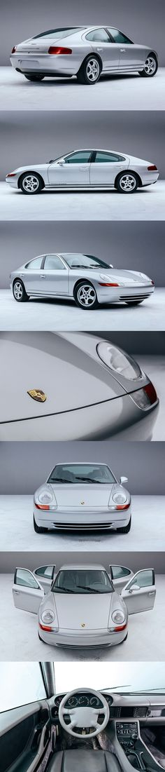 1991 Porsche 989 / 300hp V8 / prototype cancelled Panamera / Harm Lagaay / Germany / silver / 17-349