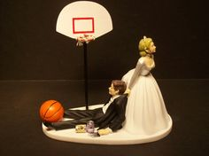 Hey, I found this really awesome Etsy listing at https://www.etsy.com/listing/209922554/basketball-with-goal-bride-and-groom