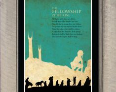 The Fellowship of the Ring Lord of the Rings by SchioStudio360