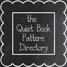 The Quiet Book Blog: Quiet Book Pattern Directory