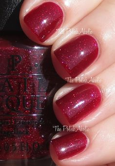 OPI - Underneath the mistletoe