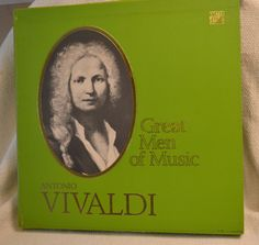 Antonio Vivaldi - Time Life Great Men of Music Boxed Vinyl Set of Classical Music by DJsVintageCache on Etsy