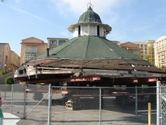 Old Looff Carousel Building from the Long Beach Pike Jan Long Beach Pike, Long Beach California, Vintage California, California Homes, Southern California, Amusement Park Rides, World's Fair, Lake Tahoe, Back In The Day