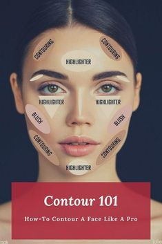 depth contouring guide explaining how to contour a face professionally, inclu. In depth contouring guide explaining how to contour a face professionally, inclu. In depth contouring guide explaining how to contour a face professionally, inclu. Makeup Guide, Makeup Tricks, Makeup 101, Makeup Looks, Makeup Ideas, Makeup Tutorials, Makeup Brushes, Hair Tutorials, Makeup Remover