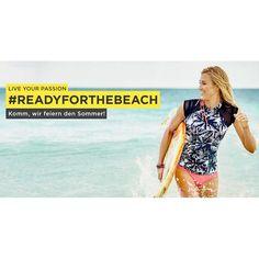 Hi Bikini-Figur! Mit unseren #ReadyForTheBeach Tipps wirst Du Deine Ziele für den Sommer erreichen und dabei Spaß haben. Unsere Master teilen ihre Fitness- Clean Eating- und Summer Beauty Geheimnisse. Feiere das Wetter und feiere Dich selbst! Link zu unserer Seite in der Bio.