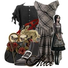 """""""Alice from The Madness Returns"""" by magykgirlz on Polyvore"""