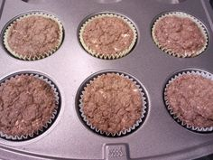 Cruise Phase : New recipe for awesome chocolate oat bran muffins