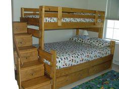 Unique Bunk Bed Designs Plans Check more at http://dust-war.com/bunk-bed-designs-plans/