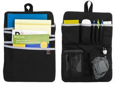 Organize your backpack vertically! Love this since I don't carry a briefcase but still need organization for my backpack and it handles cords! >>> great gift too!