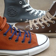 Converse Winter Sneakers. Omoda Shoes. www.omoda.com