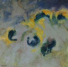 Studie 14, 2001 (P.Wienand) Acryl auf Leinwand/Holz, 25 x 25 cm