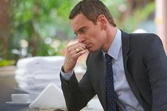 looks funny seeing him with the ring on... Michael Fassbender in 'The Counselor'